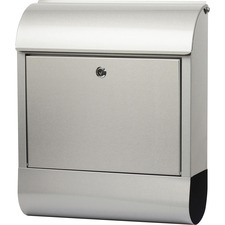 TCO 51420 Tatco Indoor/Outdoor Stainless Steel Mailbox