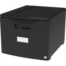 """STX 61265B01C Storex 18"""" Stackable File Drawer"""