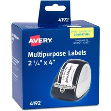 AVE 04192 Avery Name Badge Labels