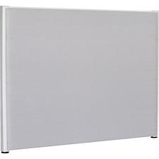LLR 90265 Lorell Gray Fabric Panel