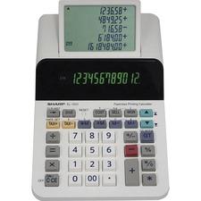 SHR EL1501 Sharp EL-1501 12-digit Printing Calculator