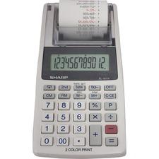 SHR EL1611V Sharp EL-1611V 12-digit Mini Printing Calculator