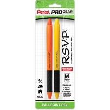 PEN BK93HDPGBP2A Pentel PROGear R.S.V.P. 1.0mm Retractable Pen