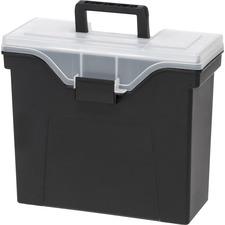 IRS 111106 IRIS Organizer Lid Slim Portable File Box