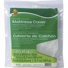 DUC 1140235 Duck Brand Twin / Full Bed Mattress Cover