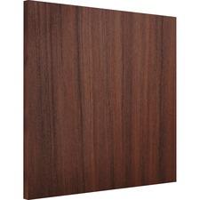 LLR 18243 Lorell Essentials Espresso Wall Hutch Wood Door