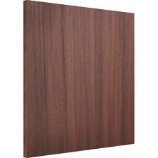 LLR 18242 Lorell Essentials Espresso Wall Hutch Wood Door
