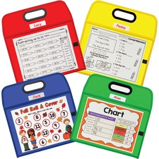 CLI 40210 C-Line Portable Dry Erase Pockets - Study Aid