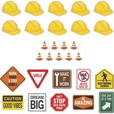 TCR 32297 Teacher Created Resources Under Construction Accent Set