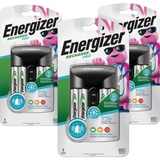 EVE CHPROWB4CT Energizer Recharge Pro AA/AAA Battery Charger