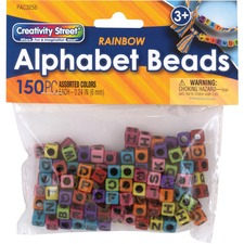 PAC 3256 Pacon Alphabet Beads
