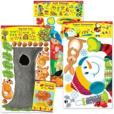 TEP T90894 Trend School Year Seasons Decorative Combo Set