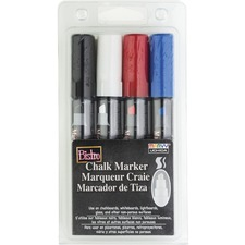 UCH 4834C Marvy Bistro Chisel Tip Chalk Markers