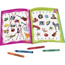TEP 94913 Trend Wipe-off Book Learning Fun Book Set Printed Book