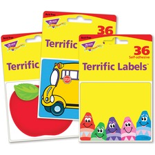 TEP 68907 Trend Terrific Labels Classroom Designs Name Tags