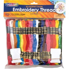 PAC 6477 Pacon Embroidery Thread Pack