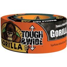GOR 6003001 Gorilla Glue Tough & Wide Black Gorilla Tape