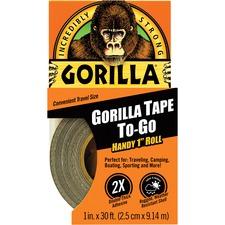 GOR 6100109 Gorilla Glue Gorilla Tape To-Go Travel Size Roll