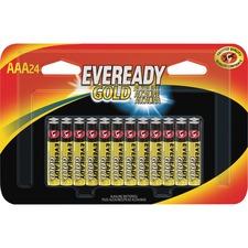 EVE A92BP24CT Eveready Gold Alkaline AAA Batteries
