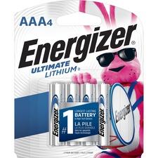 EVE L92SBP4CT Energizer Ultimate Lithium AAA Batteries