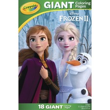 CYO 040986 Crayola Disney's Frozen 2 Giant Coloring Pages