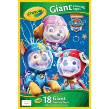 CYO 047020 Crayola Paw Patrol Giant Coloring Pages