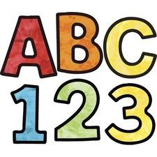 CDP 130085 Carson-Dellosa EZ Letters Watercolor Combo Pack