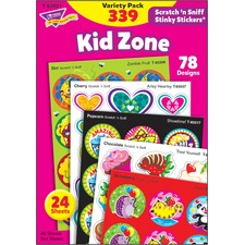 TEP 83921 Trend Kid Zone Scratch 'n Sniff Stinky Stickers