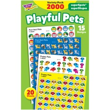 TEP 46929 Trend superSpots superShapes Playful Pets Stickers