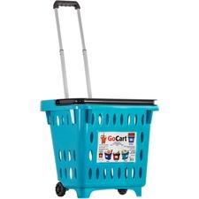 DBE 01501 dbest GoCart Multipurpose Rolling Basket