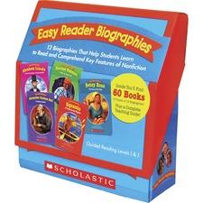 SHS 977410 Scholastic K-2 Easy Reader Boxed Book Set Printed Book