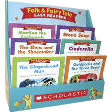 SHS 977391 Scholastic K-2 Folk/Fairy Tale Boxed Book Set Printed Book