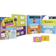 CDP 149014 Carson-Dellosa Train Your Brain Fractions Classroom Kit