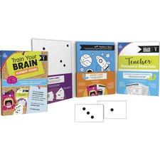 CDP 149016 Carson-Dellosa Train Your Brain Number Sense Class Kit