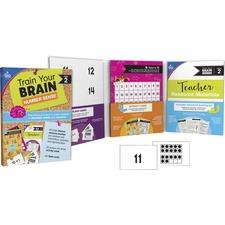 CDP 149017 Carson-Dellosa Train Your Brain Number Sense Class Kit