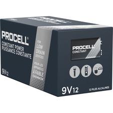 DUR PC1604BKDCT Duracell PROCELL Alkaline 9V Batteries