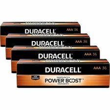 DUR MN24P36CT Duracell CopperTop Alkaline AAA Batteries