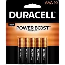 DUR MN2400B10ZCT Duracell CopperTop Alkaline AAA Batteries