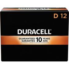 DUR 01301CT Duracell CopperTop D Batteries