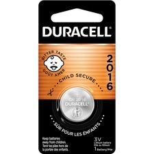 DUR DL2016BCT Duracell Duralock 2016 Lithium Battery