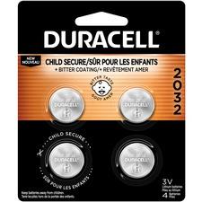 DUR DL2032B4CT Duracell 2032 3V Lithium Battery