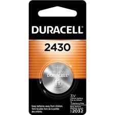 DUR DL2430BCT Duracell 2430 3V Lithium Battery