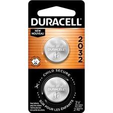 DUR DL2032B2CT Duracell 2032 3V Lithium Battery