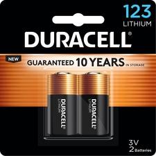 DUR DL123AB2CT Duracell Lithium Photo Battery