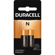 DUR MN9100B2CT Duracell Coppertop N Alkaline Batteries