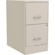 LLR 00063 Lorell SOHO F/F File Cabinet