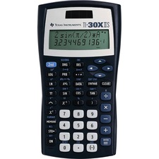 TEX TI30XIIS Texas Inst. TI30XIIS Dual Power Scientific Calc TEXTI30XIIS