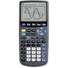 TEX TI83PLUS Texas Inst. TI83 Plus Graphing Calculator  TEXTI83PLUS