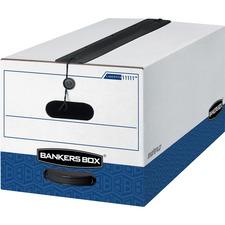 FEL 11111 Fellowes Bankers Box Liberty Storage Boxes w/Seal FEL11111