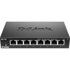 D-Link DES 108 8 Port Desktop Switch